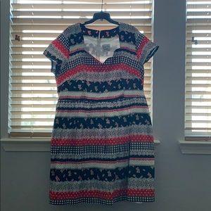 Bea & Dot Cotton Day Dress 3X